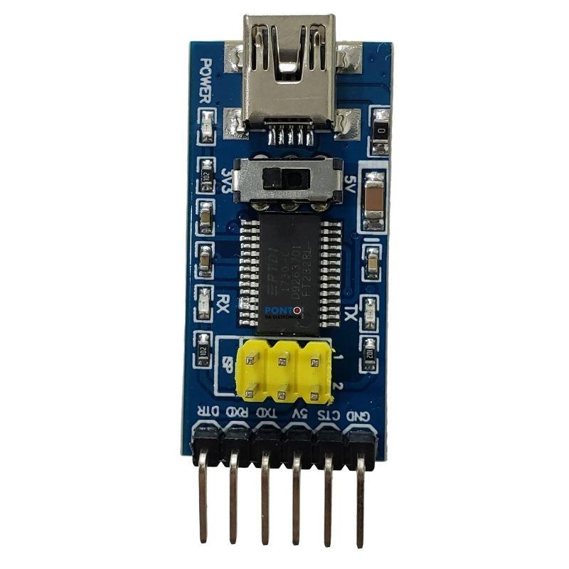 Conversor Serial FT232RL FTDI Para USB TTL