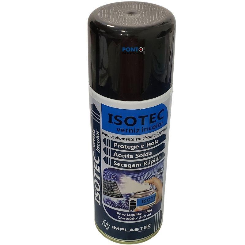 ISOTEC Verniz Incolor Aerossol 170G