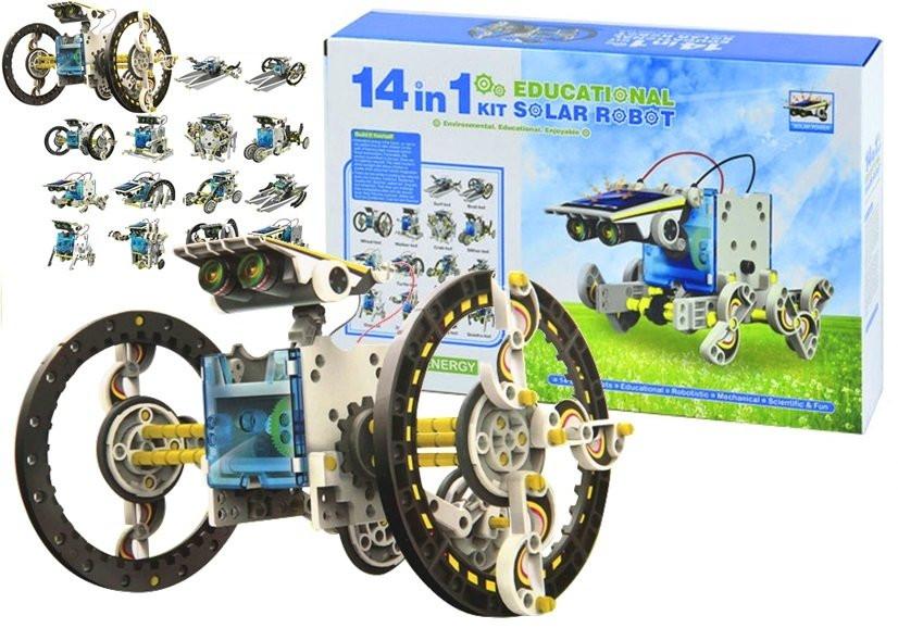 Kit Robô Solar 14 EM 1 Educacional