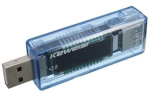 Testador de Voltagem e Medidor de Corrente USB KWS-V20