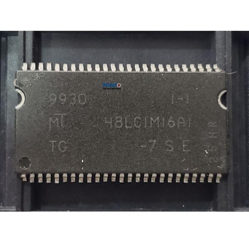 Circuito Integrado MT48LC1M16A1-7 Smd