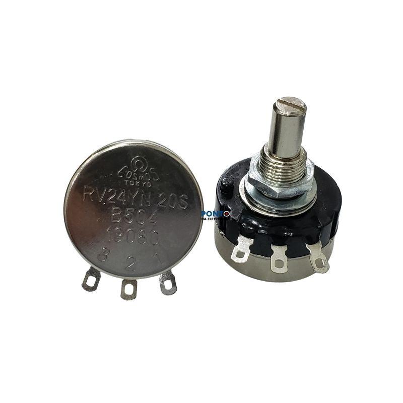 Potenciômetro 500K Rotativo Carbono RV24YN 20S B504