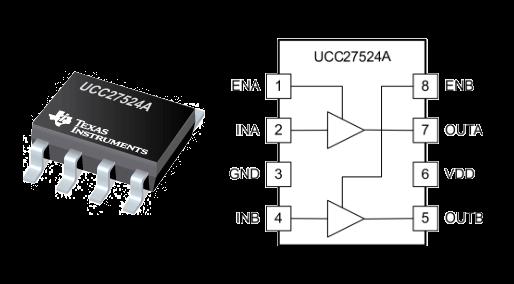 Circuito Integrado UCC27524ADR