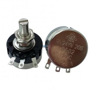 Potenciômetro 5K Rotativo Carbono RV24YN 20S B502 Tocos