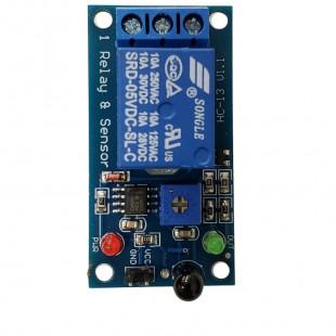 Módulo Relé 5V 1 Canal 10A Com Sensor de Incêndio de Alta Sensibilidade Para Uno R3