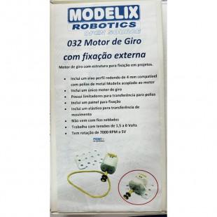 Motor de Giro Com Fixação Externa 032 Modelix