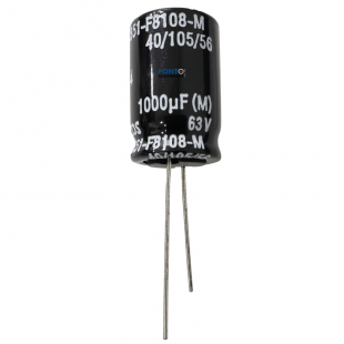 Capacitor Eletrolítico 1000uF x 63V RD 105º Epcos Kit 4pçs