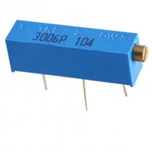 Trimpot 100K 3006P Kit 10pçs