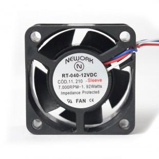 Cooler 40X40X20MM 12V 3 Fios RT-040
