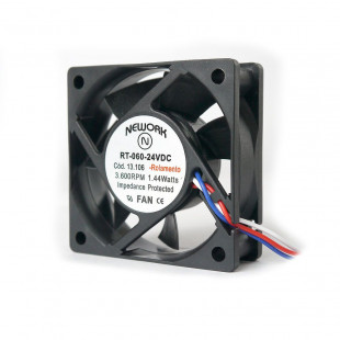 Cooler 60X60X20MM 24V 3 Fios RT-060 - 13.106