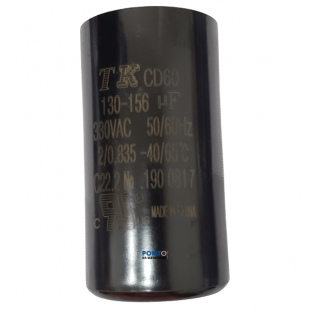 Capacitor de Partida 130-156uF x 330Vac 50/60Hz CD60 TK
