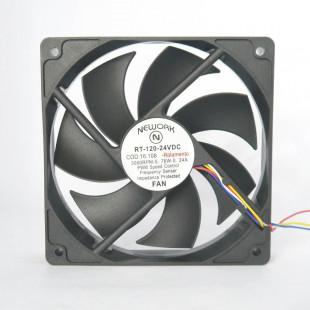 Cooler 12X12X25MM 24V Com Rolamento RT-120 4 Fios