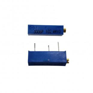 Trimpot 1K 3006P 15 Voltas 3006P-1-102 Kit 5pçs