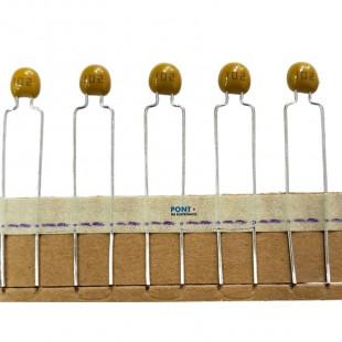 Capacitor Ceramico 1K x 50V = 102 Multicamada