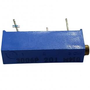 Trimpot 200R 3006P 15Voltas