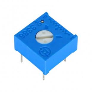 Trimpot 200R 3386F 1 Volta Kit 15pçs