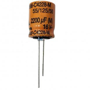 Capacitor Eletrolitico 2200uF x 16V