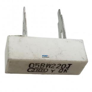 Resistor 220R 5W 5% Radial