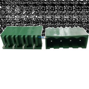 2EDGVC-5.0 180º Borne 4 Terminais Macho Kit 10pçs
