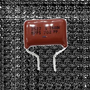 Capacitor Poliéster 2K5 X 1K6 =  252JX1600V Kit 20pçs