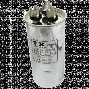 Capacitor Polipropileno Duplo 35+4uF x 440V 50/60Hz CBB65 TK