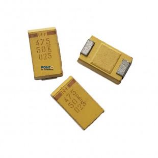 Capacitor Tântalo 47UF x 50V Smd Case E