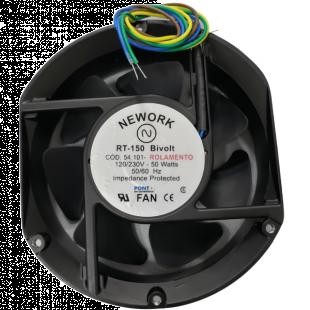 Cooler 172X150X51MM BIV 110/220V Com Rolamento 4 Fios RT-150 54.101