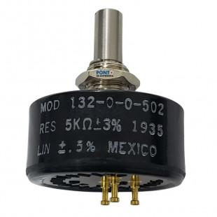 Potenciômetro 5K Rotativo Linear 132-0-0-502 Vishay