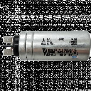 Capacitor Polipropileno 5uF x 450Vac 50/60Hz Aluminio Faston Epcos