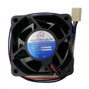 Cooler 60X60X25MM 24V Com Rolamento 3 Fios 6025B-24