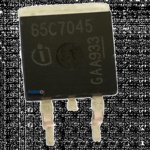 Transistor 65C7045 = IPB65R045C7ATM2 Smd