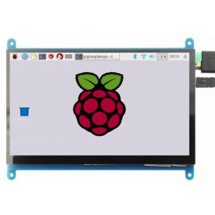 Display LCD 7 Polegadas HDMI 800X480 USB Touch Para Raspberry