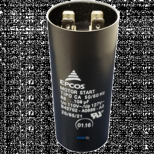 Capacitor de Partida 88-108uF x 110V 50/60Hz Epcos