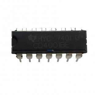 Circuito Integrado CD4001BE Kit 5pçs