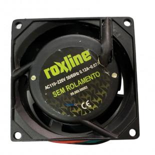 Cooler 80X80X38MM Biv 110/220V Sem Rolamento 4 Fios