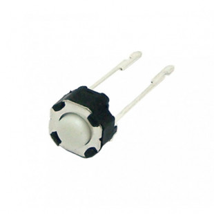 Chave Tactil  TSY6643 2 Terminais 180º Branca Kit 30pçs