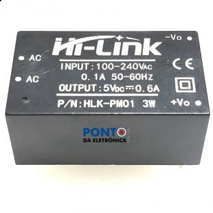 HLK-PM01 Módulo Fonte 5V 3W