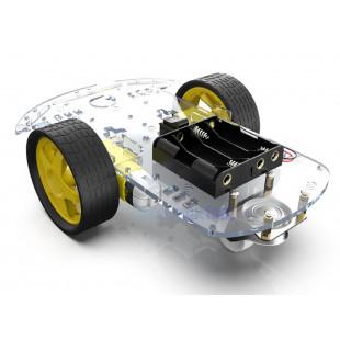 Kit Chassi 2WD Robô Para Arduíno