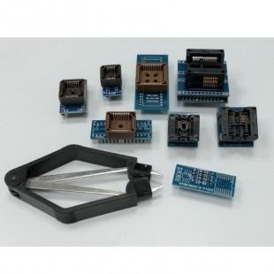 Kit de 8 Soquetes Adaptadores Para Programador