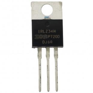 Transistor IRLZ34N