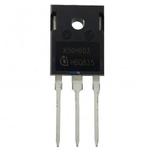 Transistor IKW50N60H3 = K50H603