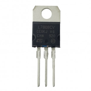 Regulador de Tensão L7808CV Kit 10pçs