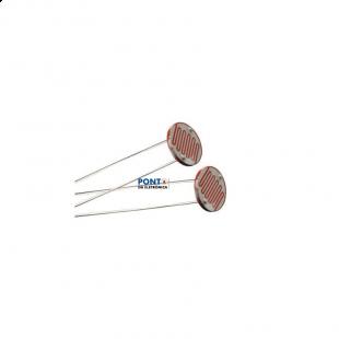 Sensor de Luminosidade LDR 10MM Kit 5pçs