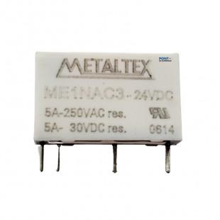 Rele ME1NAC3 24VCC Metaltex