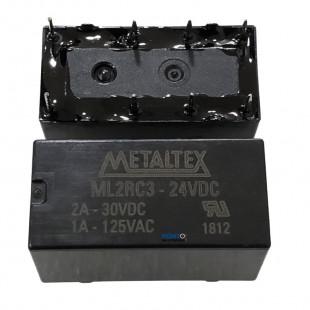 Rele ML2RC3-24VDC Metaltex = HJR1-2C L-24VCC