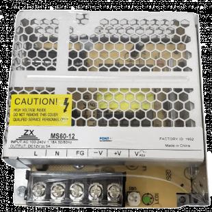 MS60-12 Fonte de Alimentação 12V 5A 60W