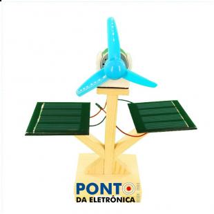 Micro Ventilador Movido a Energia Solar