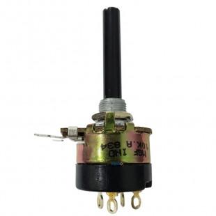 Potenciômetro 10K A Rotativo Com Chave Linear 23MM