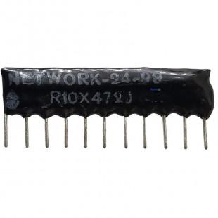 Rede 4K7 11Pinos R10X472J Kit 10pçs