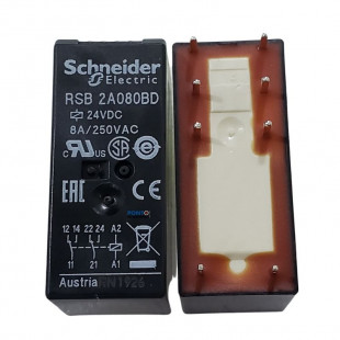 Rele Interface RSB2A080BD 8A 24VCC Schneider